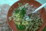 Kuřecí roláda s nádivkou