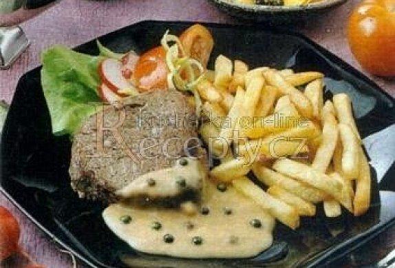 Bifteky se zeleným pepřem photo-0