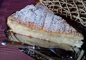 Kokosovo-pudinkový koláč