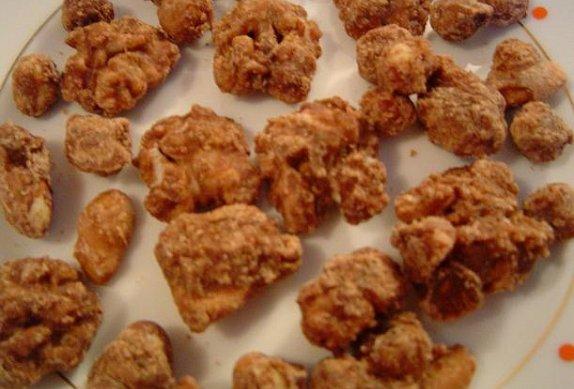 Ořešáci - ořechy v karamelu - bezlepkové
