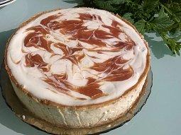 Rebarborový cheesecake