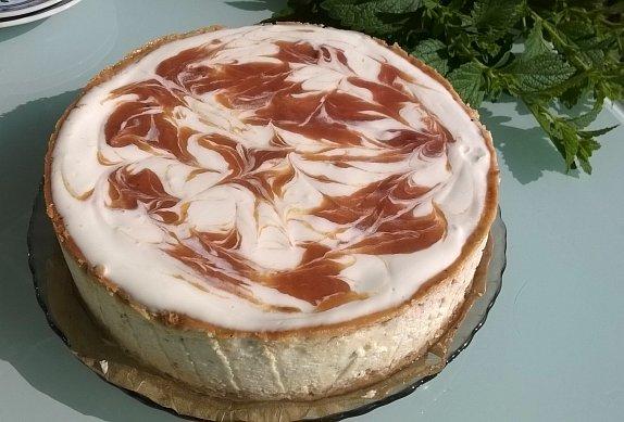 Rebarborový cheesecake photo-0