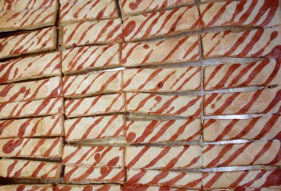 Listové tyčinky na sladko