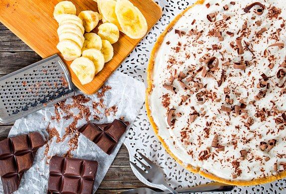 Banánový koláč s karamelem photo-0
