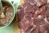 Maso na gril nebo do trouby v barbecue omáčce