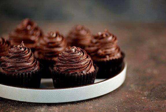 Čokoládové cupcakes photo-0
