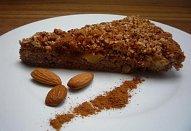 Ořechový koláč bez mouky