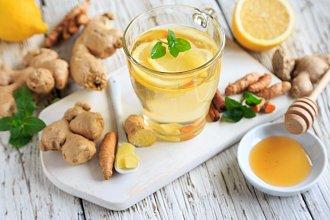 Recept na zázvorový čaj – postup přípravy, suroviny a více variant receptu