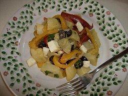 Bramborový salát z Lukanie