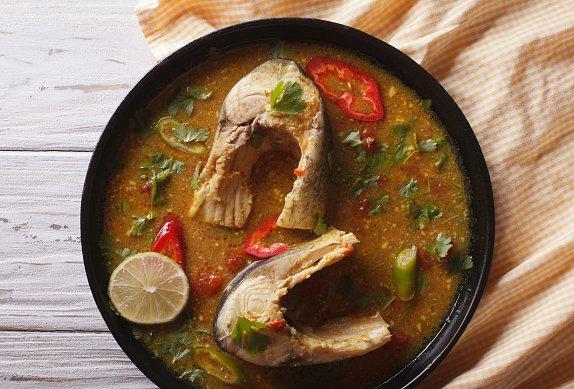 Jemná rybí polévka