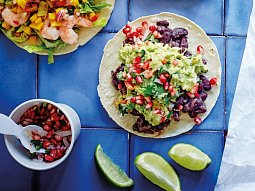 Tacos s fazolemi