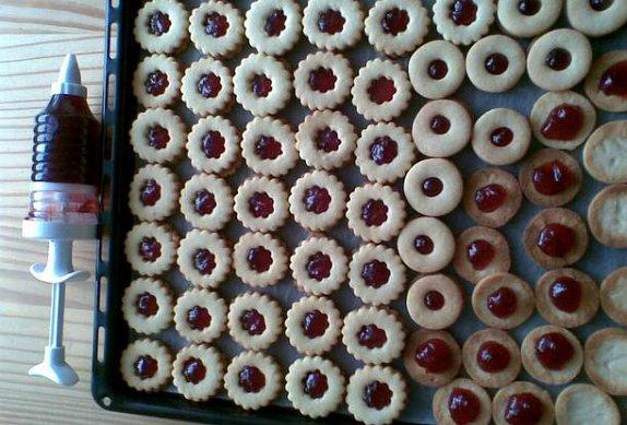 Linecké koláčky
