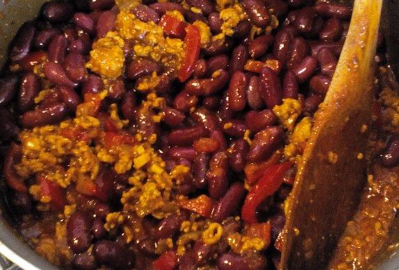Mletá směs s fazolemi