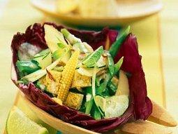 Indonéský tofu salát