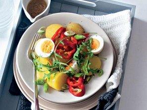 Bramborový salát s vejci