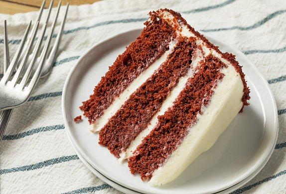 Red velvet dort
