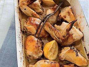 Kuře pečené na medu a citronu