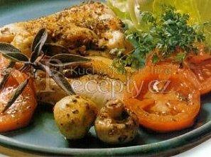 Marinovaná kuřecí prsíčka na grilu