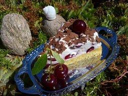 Osvěžující višňový dort
