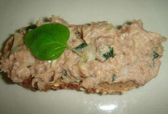 Tuňáková pomazánka bez majonézy