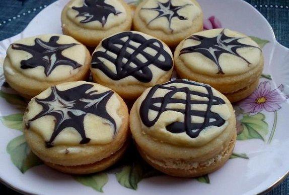 Cappuccino koláčky - cukroví