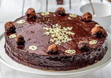 Piškotový dort krok za krokem