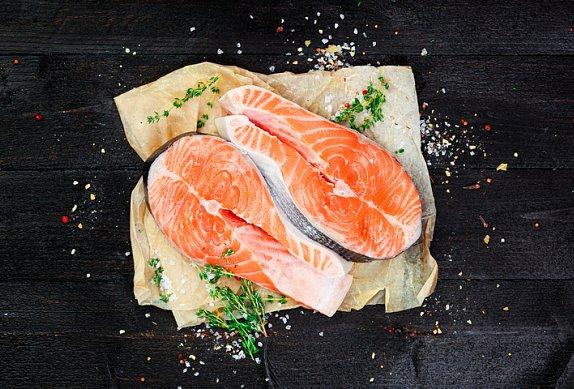 Grilovaný losos v marinádě