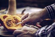 Těstoviny s dýní a kapustou