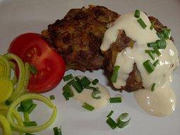 Biftek z mletého masa