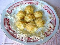 Zapékané bramborové kuličky