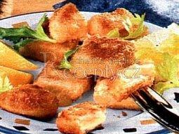 Smažený celer se sýrem