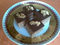 Ořechové kostky - miniřezy