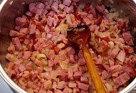 Těstoviny s uzeným a medvědím česnekem