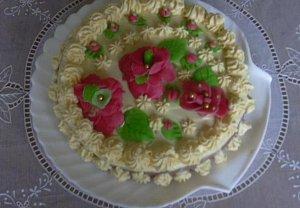 Narozeninový sváteční dort