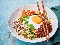 Korejská rýže Bibimbap