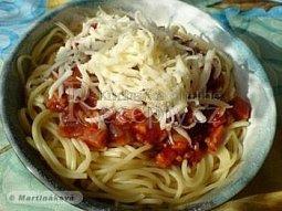 Omáčka na špagety III.