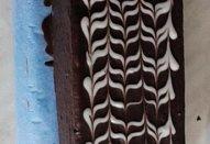 Banánovo-čokoládový hřbet