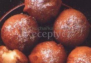 Jablkovo-pudinkové koblížky