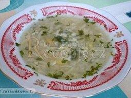 Kedlubnová polévka III.