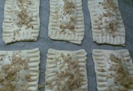 Ořechové polštářky