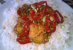Sezamové kuře v těstíčku