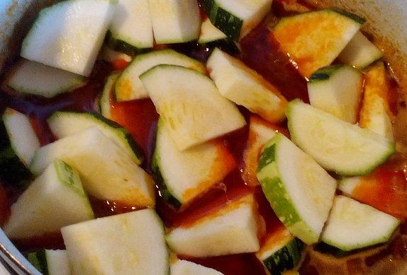 Cuketa / patizon na paprice - rychlý paprikáš