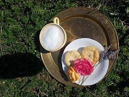 Levandulové cupcaky