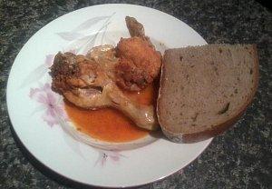 Kuře na chilli a na česneku - výborná rychlovka