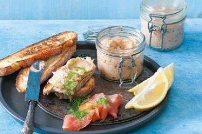 Suroviny pro lepší náladu; losos, kapusta, zázvor a kakao