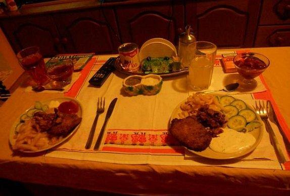 Vepřový steak s hranolkami photo-0