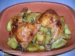 Kuře na nových bramborách