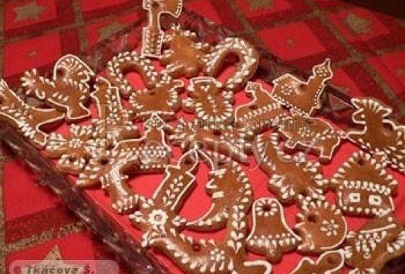 Perníkové figurky na stromeček