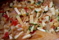 Zelenina pod maso, do masových směsí...