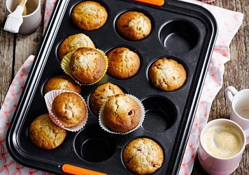 Ovoce & ořechy - dokonale snadné koláče